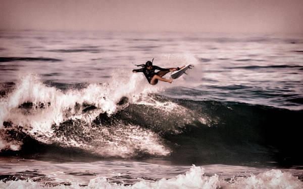 Photograph - Malia Manuel Surfer Girl by Waterdancer