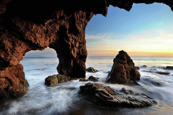 Matador Photograph - Malibu Arch by Piriya Photography