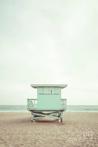 Wall Art - Photograph - Malibu California Zuma Beach Lifeguard Tower #1 Photo by Paul Velgos