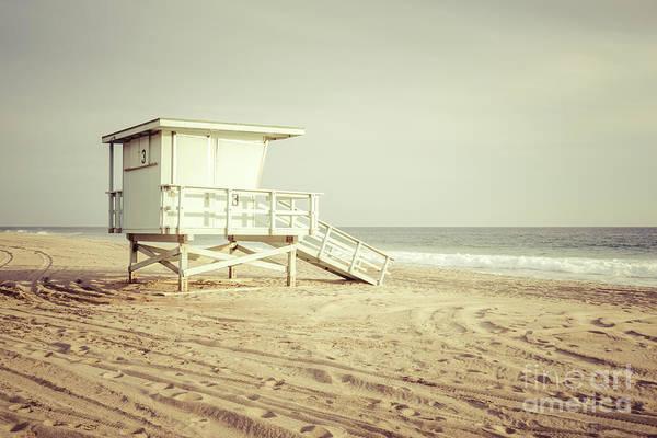 Wall Art - Photograph - Malibu California Zuma Beach Lifeguard Tower #3 Photo by Paul Velgos