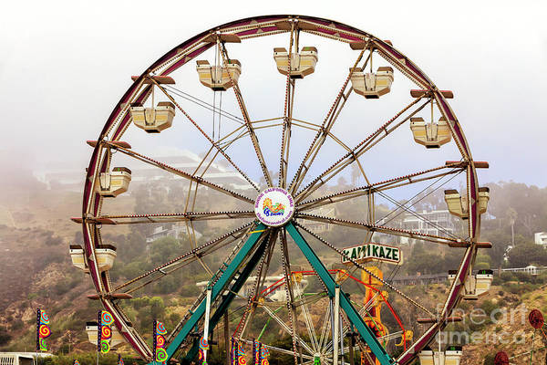 Photograph - Malibu Carnival Ferris Wheel by John Rizzuto