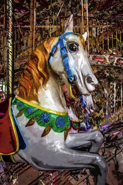 Photograph - Mall Of Asia Carousel 1 by Michael Arend