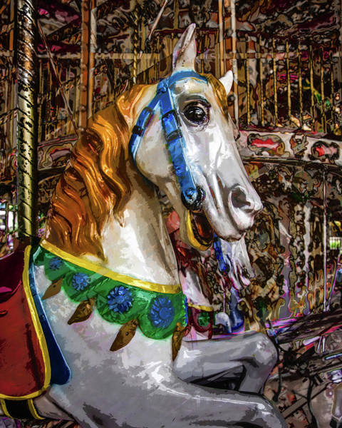 Photograph - Mall Of Asia Carousel 2 by Michael Arend