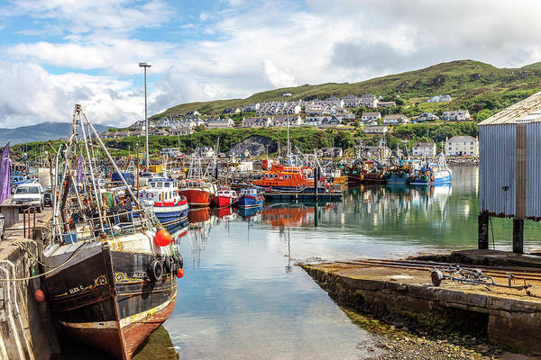 Wall Art - Photograph - Mallaig Harbor by W Chris Fooshee