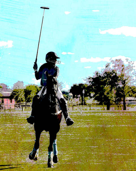 Wall Art - Photograph - Mallet Up Polo by Gaby Ethington