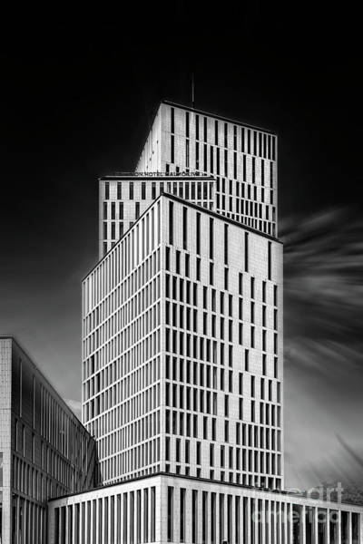 Clarion Photograph - Malmo Live Building Blocks Fine Art Edit by Antony McAulay