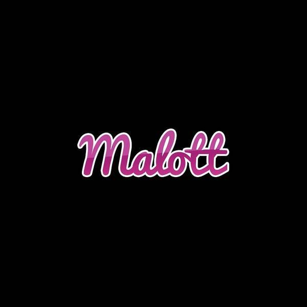 Digital Art - Malott #malott by Tinto Designs