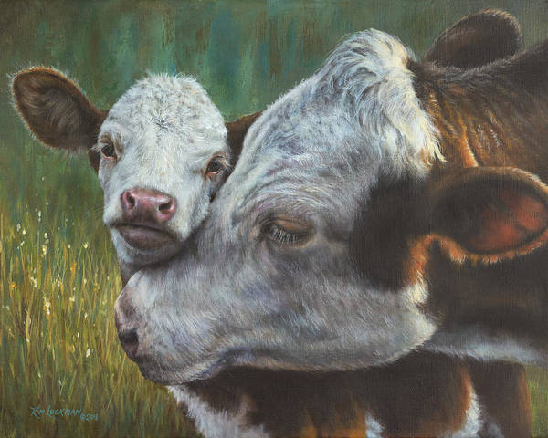 Painting - Mama's Boy by Kim Lockman