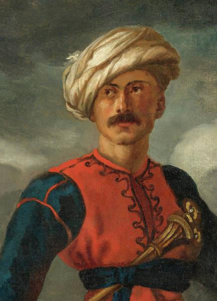 Wall Art - Painting - Mamluk by Theodore Gericault