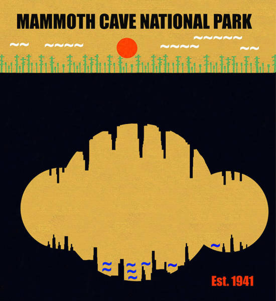 Wall Art - Mixed Media - Mammoth Cave N. P. M Series by David Lee Thompson