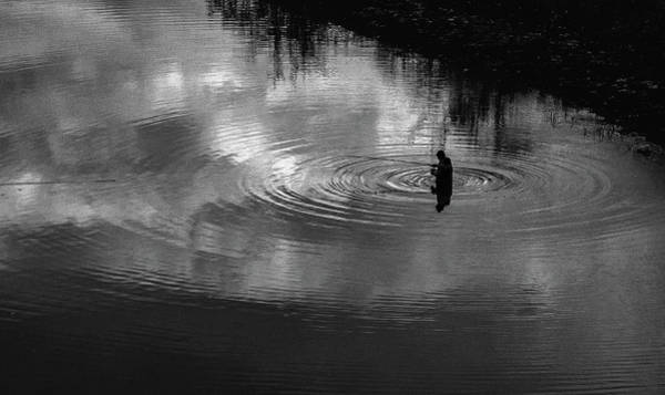 Photograph - Man And Reflections by Suleyman Derekoy