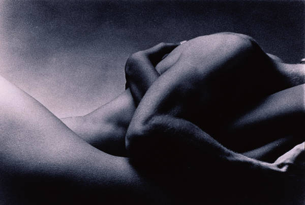 Heterosexual Couple Photograph - Man And Woman Making Love by Barnaby Hall