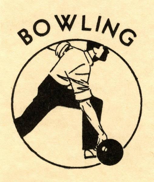 Men Digital Art - Man Bowling by Graphicaartis