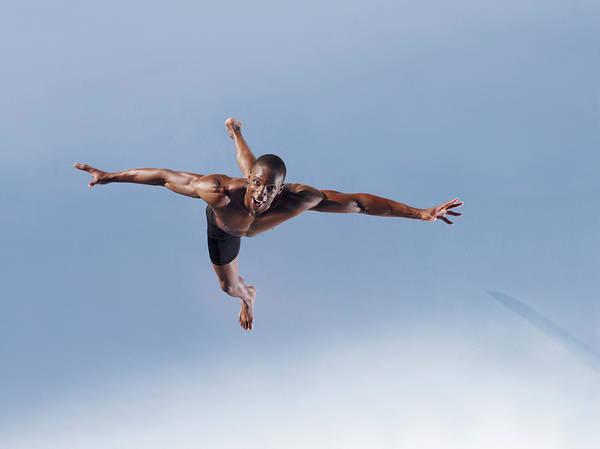Man Jumping Art Print