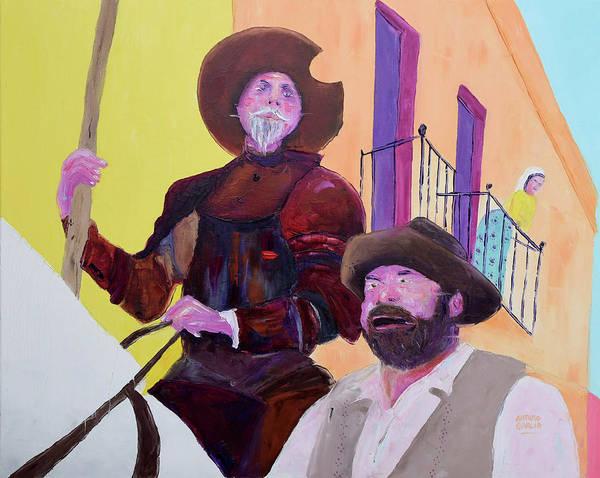 Man Of La Mancha Wall Art - Painting - Man Of La Mancha by Arturo Garcia