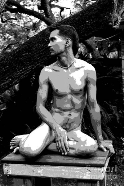 Photograph - Man Of Stone by Robert D McBain