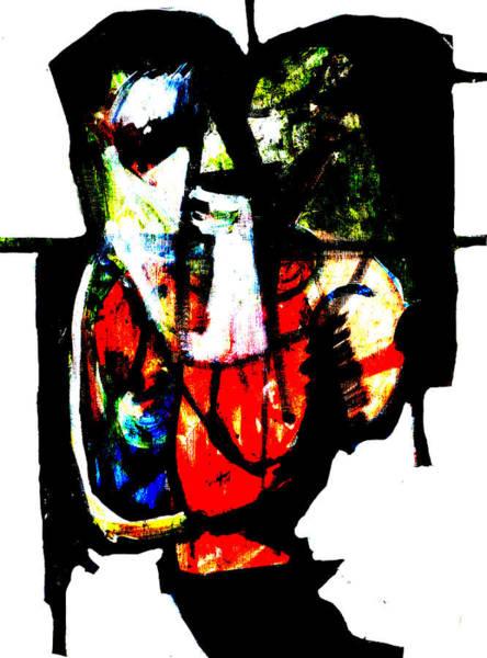 Digital Art - Man On A Play Mat by Artist Dot