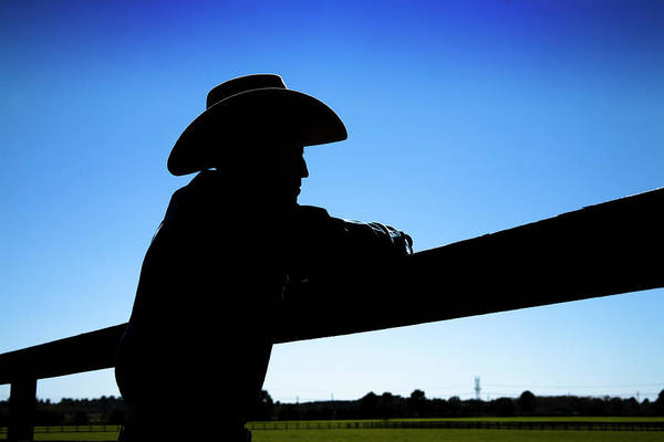 Real People Photograph - Man Rancher On Farm. Fence In by Fstop123
