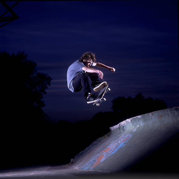 Skateboard Photograph - Man Skateboarding by Renato Custodio