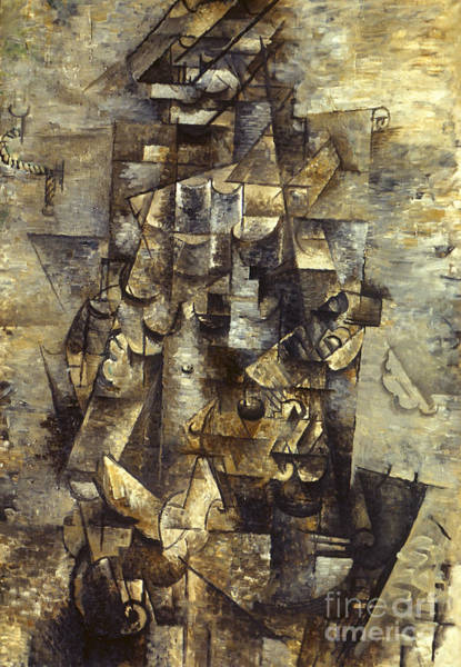Painting - Man With A Guitar by Georges Braque