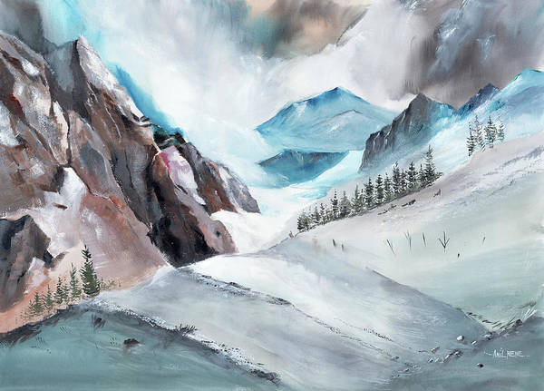 Painting - Manali 12 by Anil Nene
