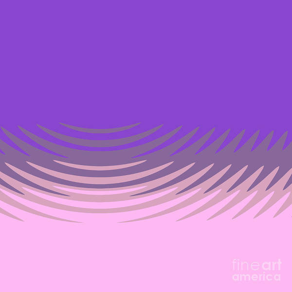 Drawing - Manan Purple Pink by Aapshop