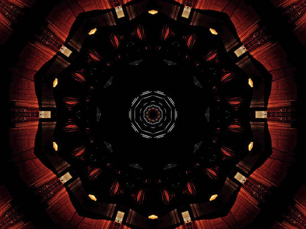 Photograph - Mandala 1 by Jorg Becker