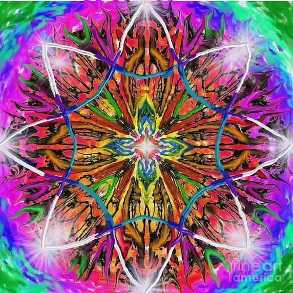 Painting - Mandala 12 11 2018 by Hidden Mountain