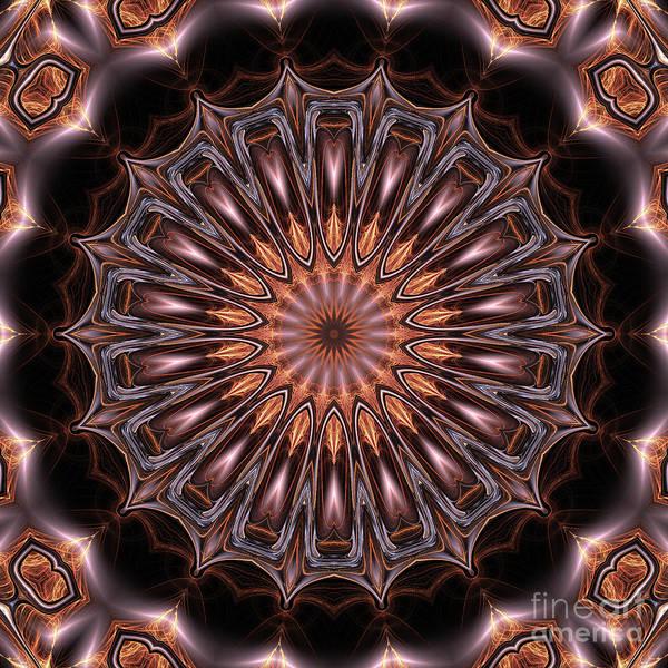 Fall Colors Digital Art - Mandala 18 by John Edwards