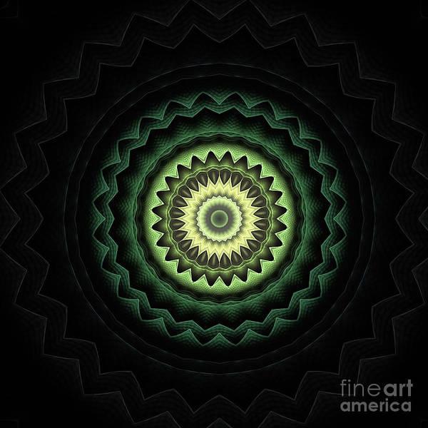 Fall Colors Digital Art - Mandala 24 by John Edwards