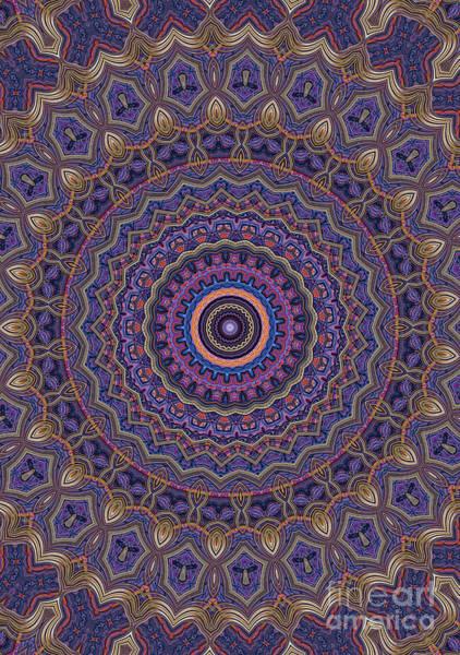 Wall Art - Digital Art - Mandala 25 by John Edwards