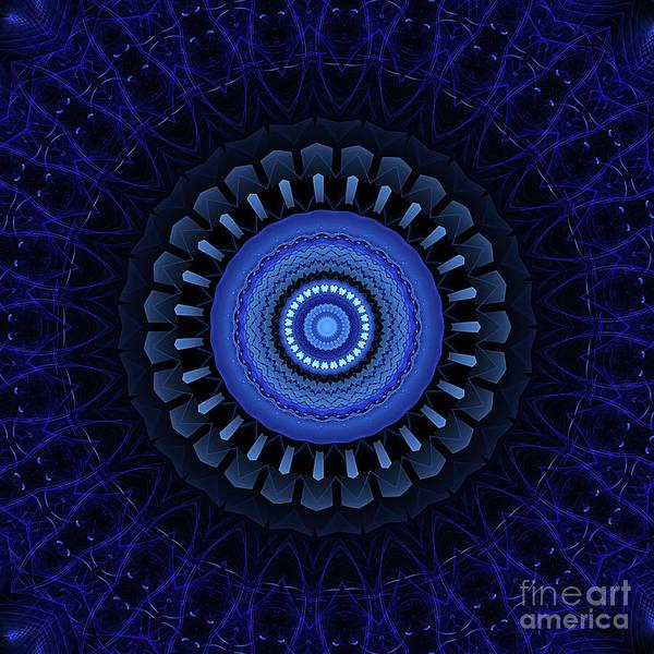Wall Art - Digital Art - Mandala 27 by John Edwards