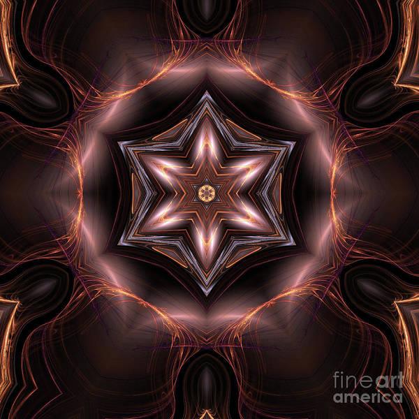 Fall Colors Digital Art - Mandala 6 by John Edwards