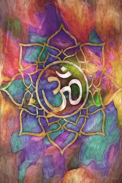 Digital Art - Mandala Aura by Cindy Greenstein