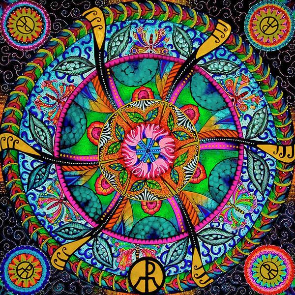 Painting - Mandala by Ellie Perla