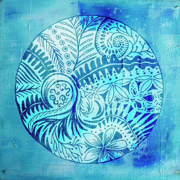 Painting - Mandala Foliage by Jocelyn Friis