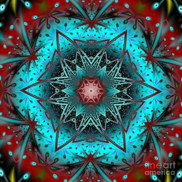 Wall Art - Digital Art - Mandala G by Galina Lavrova