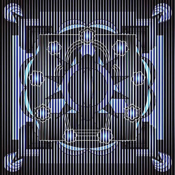 Digital Art - Mandala Hypnotic by Mario Carini