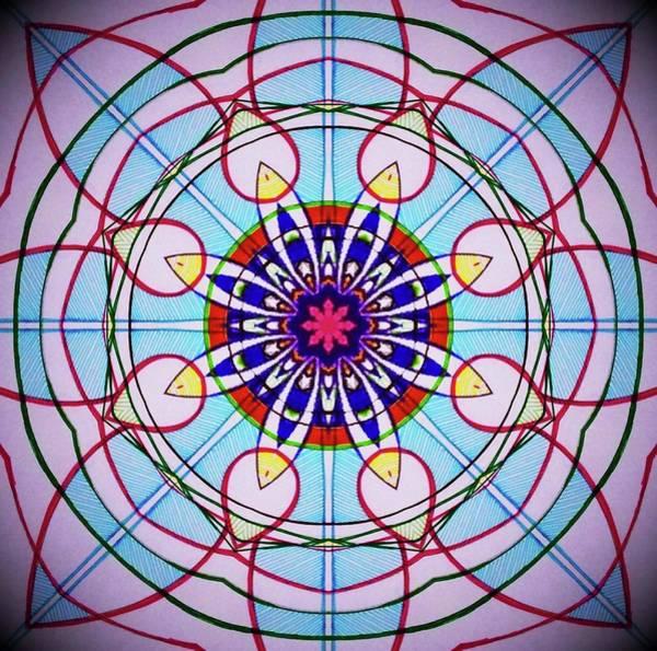 Clarity Digital Art - Mandala Of Clarity  by Michell Rosenthal