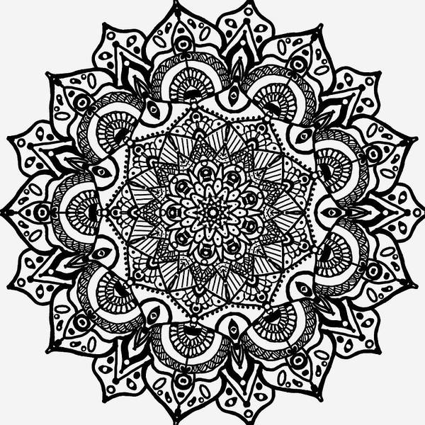 Digital Art - Mandala  by Sorys Acevedo