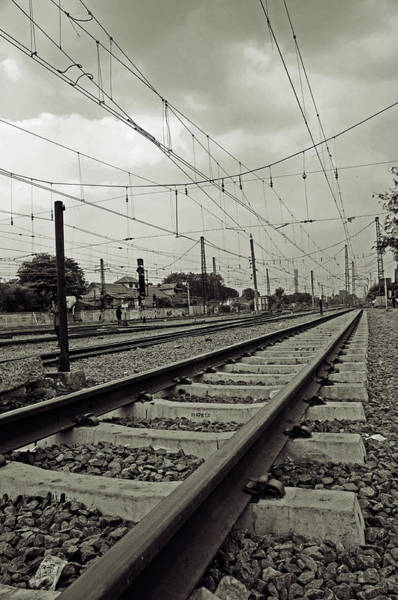 Jakarta Photograph - Manggarai Station by Teeje