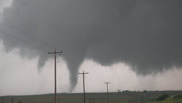 Photograph - Mangum Oklahoma Tornado 002 by Dale Kaminski