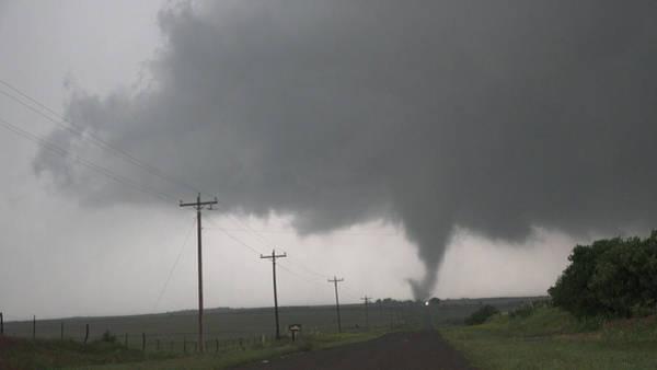 Photograph - Mangum Oklahoma Tornado 008 by Dale Kaminski