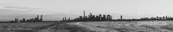 Photograph - Manhatta, New Jersey And The Statue Of Liberty by PorqueNo Studios