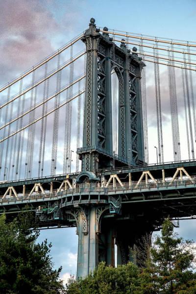 Photograph - Manhattan Bridge  by Harriet Feagin