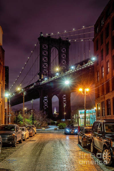 Wall Art - Photograph - Manhattan Bridge by Marvin Spates