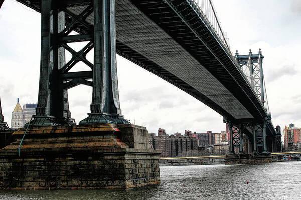 Wall Art - Photograph - Manhattan Bridge Under Color  by Chuck Kuhn
