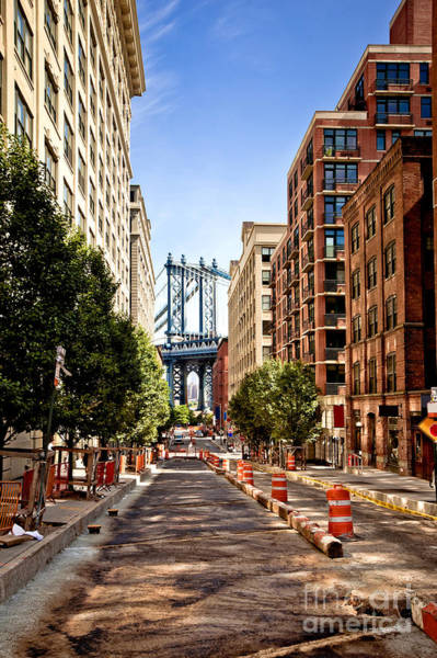 Wall Art - Photograph - Manhattan Bridge,view From Washington by Andrey Bayda