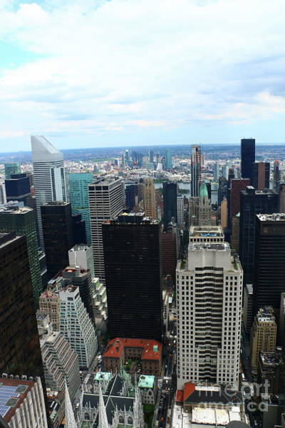 Photograph - Manhattan From Above  by Christiane Schulze Art And Photography