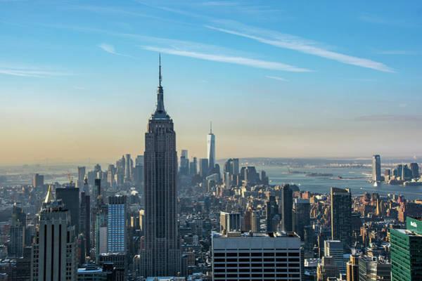 Photograph - Manhattan Morning by Mark Hunter